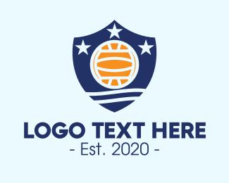 Sporting Event - Sport Ball Team Shield logo design
