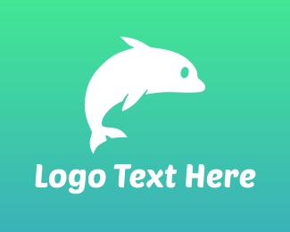 Grey - Grey Dolphin logo design