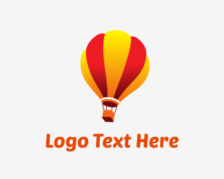 Hot Air Balloon - Sunrise Ballooning logo design
