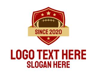 Football - Gridiron American Football Team logo design