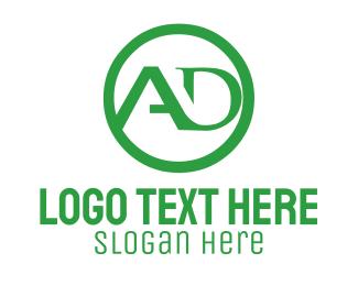 Ad - A & D logo design