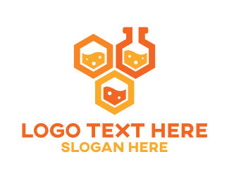 Lab - Honeycomb Labs logo design