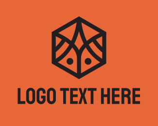 Insect - Simple Geometric Insect logo design