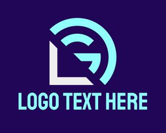 Company - App Developer L & G logo design