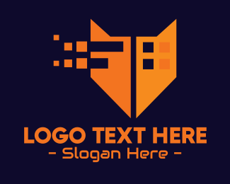 Web Development - Orange Fox Digital Pixels logo design
