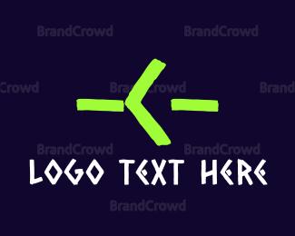Hacker - Gaming Green Letter C logo design