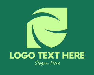 Environmentalist - Green Eco Company logo design