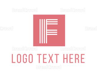 Contemporary - Modern Feminine F logo design