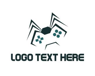 Arcade - Spider Game  logo design