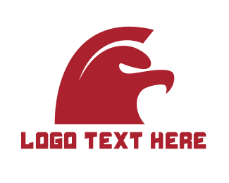 Red Spartan - Spartan Eagle Gaming logo design