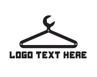 Showroom - Garage Hanger Spanner logo design