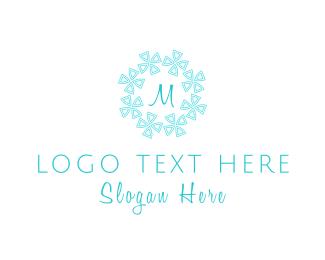 Frosty - Snowflake Lettermark logo design