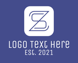 Sa - S & Z Business App logo design