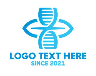 DNA Lab - DNA Laboratory logo design