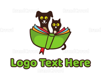 School - Pet School logo design