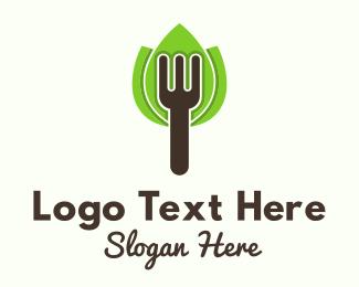 Fork - Organic Fork logo design