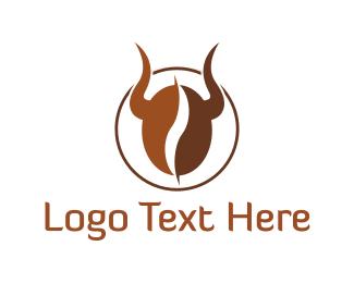 Coffee Shop - Bull Coffee logo design