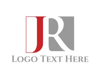 Letter J - J & R logo design