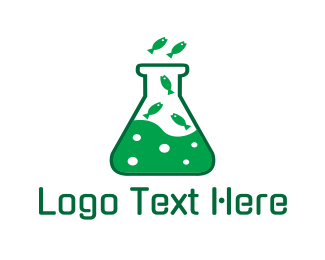Toxic - Lab Aquarium logo design