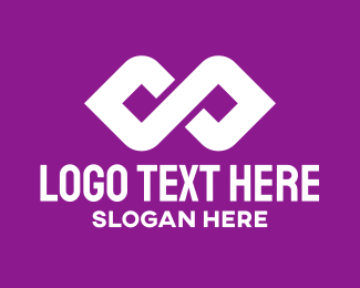 Loop - Digital Infinite Loop logo design
