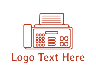 Electrical Devices - Fax Machine logo design