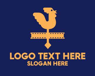 Documentary - Entertainment Rooster Film logo design