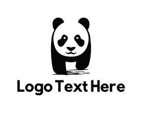 Nice - Cute Panda logo design