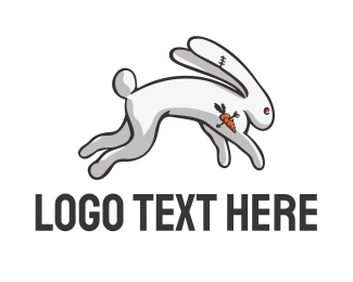 Angry - ANGRY RABBIT logo design