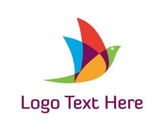 Management - Colorful Bird logo design