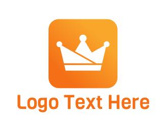 App - Royalty App logo design