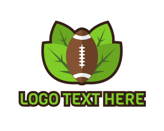 Rugby Union - Nature American Football logo design