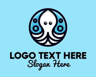 Ocean - Ocean Sea Octopus  logo design