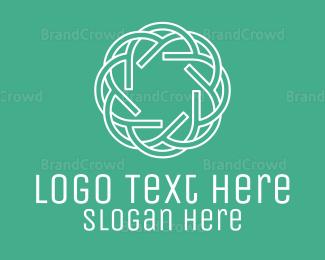 Ancestor - Celtic Circular Pattern logo design