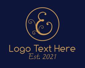 Beauty - Elegant Letter E logo design