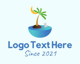 Boracay - Island Destination  logo design