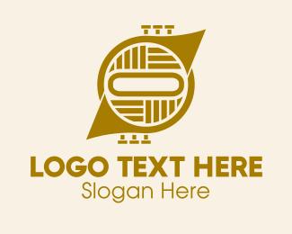 Horn - French Horn Instrument  logo design