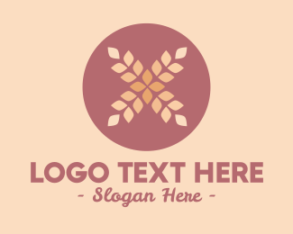 Wheat - Wheat Flower logo design