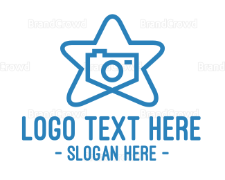 Photography - Star Camera Photography logo design
