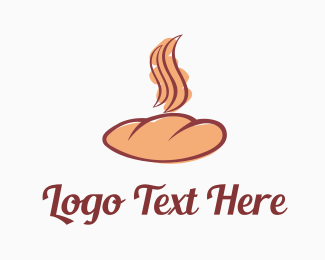 Roll - Delicious Bakery logo design