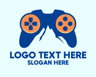 Video Game - Video Game Mountain logo design
