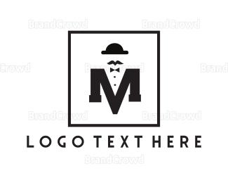 1960s - Fashionable Letter M logo design