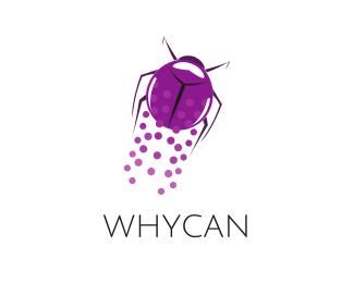 Bug Flying Beetle logo design