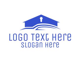 Insurance - Golden House logo design