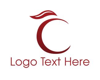 Berry - Cherry Letter C logo design