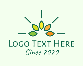 Environment Friendly - Eco Organic logo design