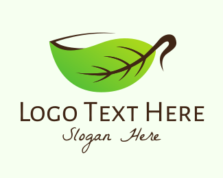 Tea Cup - Organic Herbal Cup logo design