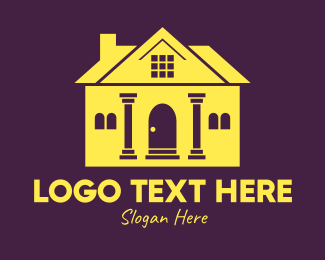 Institution - Bank Institution Building logo design