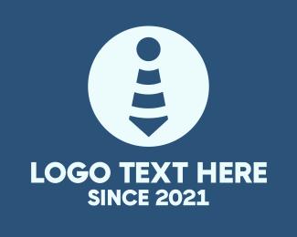 Signal - Wifi Signal Necktie logo design