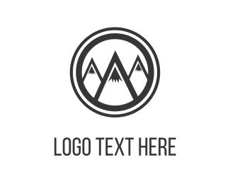 Outdoors - Mountains & Peaks logo design