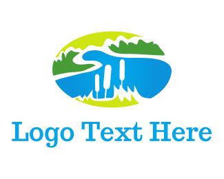 Dairy - Lake Vista logo design